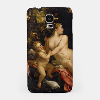 Miniatur Annibale Carracci-Venus, Adonis and Cupid Samsung Case, Live Heroes