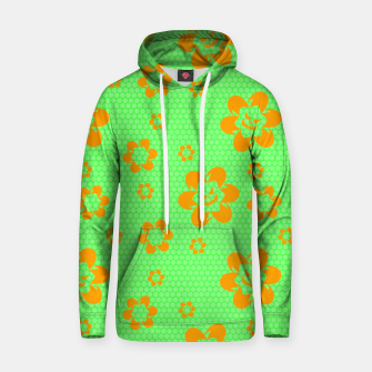 Falling flowers_halloween edition Hoodie thumbnail image