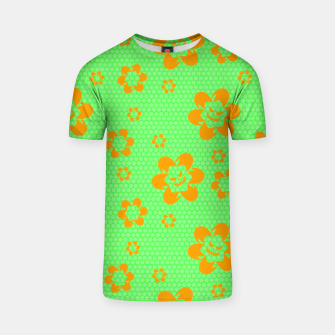 Thumbnail image of Falling flowers_halloween edition T-shirt, Live Heroes