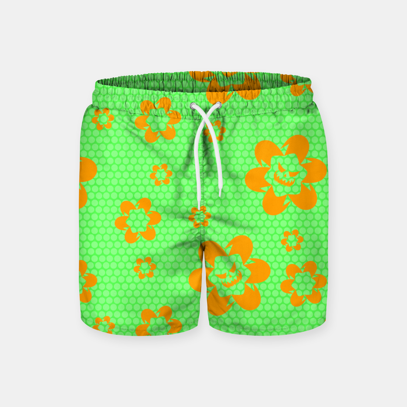 Image of Falling flowers_halloween edition Swim Shorts - Live Heroes