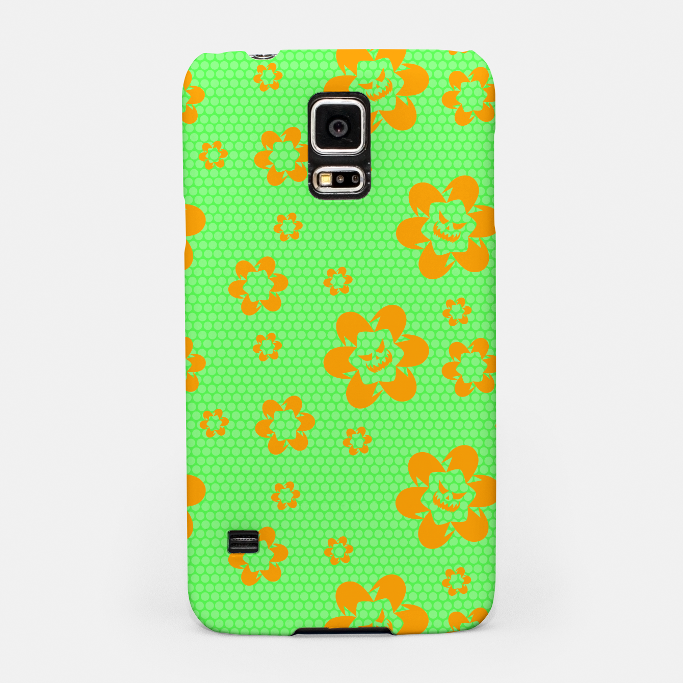 Image of Falling flowers_halloween edition Samsung Case - Live Heroes