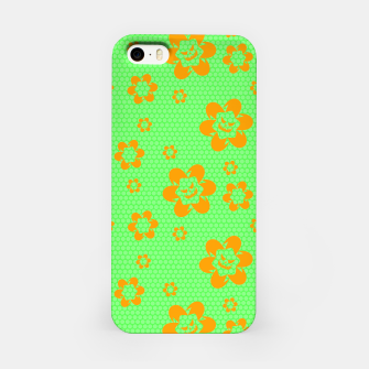 Thumbnail image of Falling flowers_halloween edition iPhone Case, Live Heroes