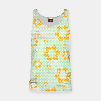 Thumbnail image of Army flowers Tank Top, Live Heroes