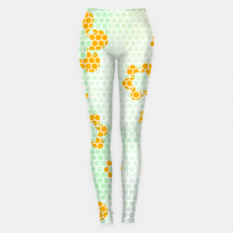 Thumbnail image of Army flowers Leggings, Live Heroes