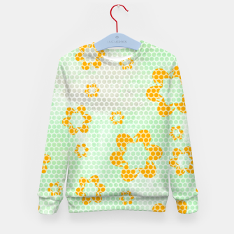 Thumbnail image of Army flowers Kid's sweater, Live Heroes