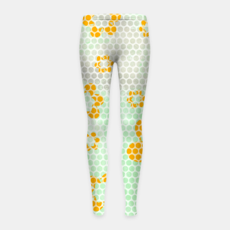 Thumbnail image of Army flowers Girl's leggings, Live Heroes