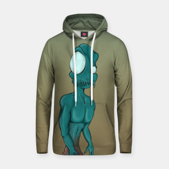 Thumbnail image of Aliens are coming Hoodie, Live Heroes