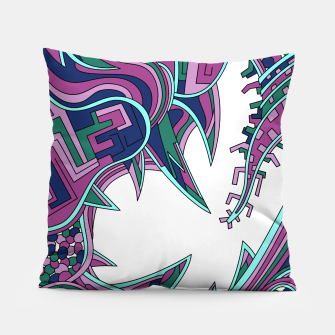Thumbnail image of Wandering Abstract Line Art 39: Pink Pillow, Live Heroes