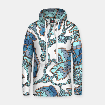 Thumbnail image of Wandering Abstract Line Art 40: Blue Hoodie, Live Heroes