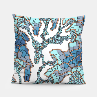 Thumbnail image of Wandering Abstract Line Art 40: Blue Pillow, Live Heroes