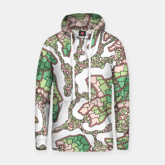 Thumbnail image of Wandering Abstract Line Art 40: Green Hoodie, Live Heroes