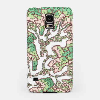 Thumbnail image of Wandering Abstract Line Art 40: Green Samsung Case, Live Heroes