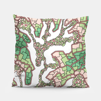 Thumbnail image of Wandering Abstract Line Art 40: Green Pillow, Live Heroes