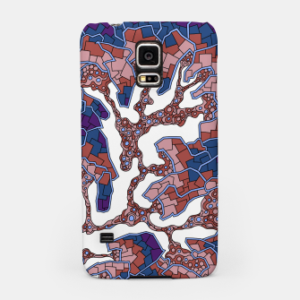 Thumbnail image of Wandering Abstract Line Art 40: Purple Samsung Case, Live Heroes