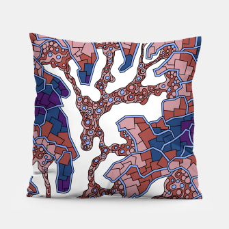 Thumbnail image of Wandering Abstract Line Art 40: Purple Pillow, Live Heroes