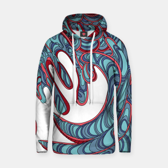Thumbnail image of Wandering Abstract Line Art 41: Blue Hoodie, Live Heroes