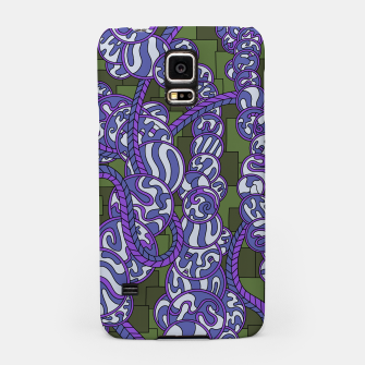 Thumbnail image of Wandering Abstract Line Art 43: Purple Samsung Case, Live Heroes