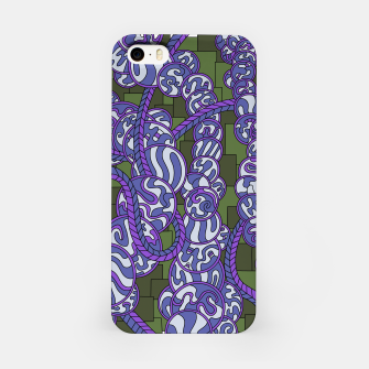 Thumbnail image of Wandering Abstract Line Art 43: Purple iPhone Case, Live Heroes