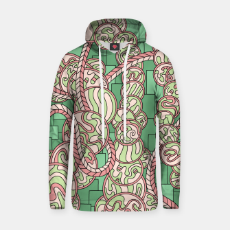 Thumbnail image of Wandering Abstract Line Art 43: Green Hoodie, Live Heroes