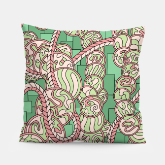 Thumbnail image of Wandering Abstract Line Art 43: Green Pillow, Live Heroes