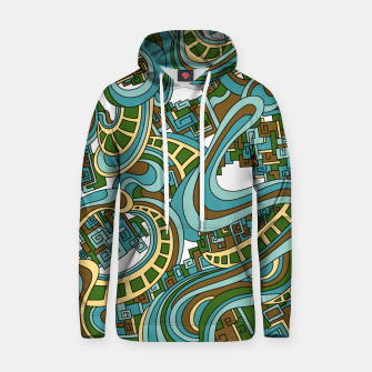 Thumbnail image of Wandering Abstract Line Art 45: Blue Hoodie, Live Heroes