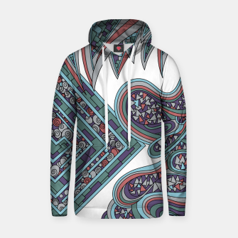 Thumbnail image of Wandering Abstract Line Art 47: Blue Hoodie, Live Heroes