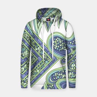 Thumbnail image of Wandering Abstract Line Art 47: Green Hoodie, Live Heroes