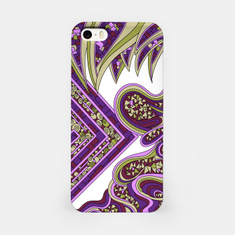 Thumbnail image of Wandering Abstract Line Art 47: Purple iPhone Case, Live Heroes