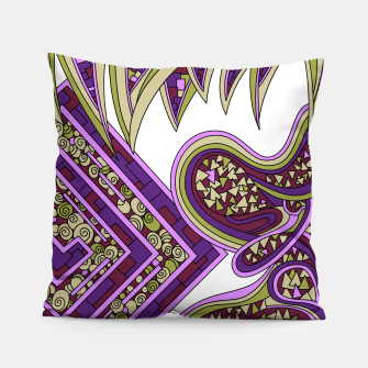 Thumbnail image of Wandering Abstract Line Art 47: Purple Pillow, Live Heroes