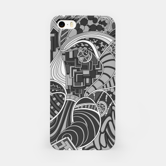 Miniatur Wandering 48: grayscale iPhone Case, Live Heroes