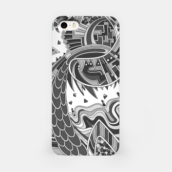 Miniatur Wandering 49: grayscale iPhone Case, Live Heroes