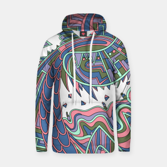 Thumbnail image of Wandering Abstract Line Art 49: Coral Hoodie, Live Heroes