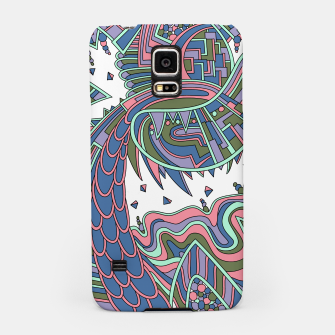 Thumbnail image of Wandering Abstract Line Art 49: Coral Samsung Case, Live Heroes
