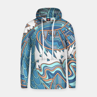 Thumbnail image of Wandering Abstract Line Art 49: Blue Hoodie, Live Heroes