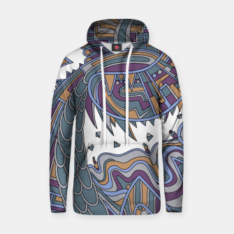 Thumbnail image of Wandering Abstract Line Art 49: Gold Hoodie, Live Heroes