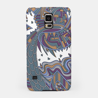 Thumbnail image of Wandering Abstract Line Art 49: Gold Samsung Case, Live Heroes