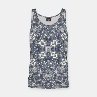 Luxury Geometric Ornate Mosaic Print Tank Top Bild der Miniatur