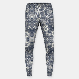 Luxury Geometric Ornate Mosaic Print Sweatpants Bild der Miniatur