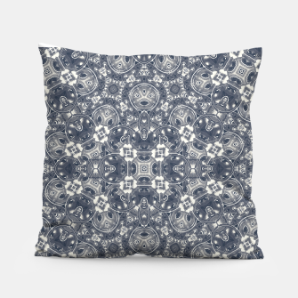 Luxury Geometric Ornate Mosaic Print Pillow Bild der Miniatur