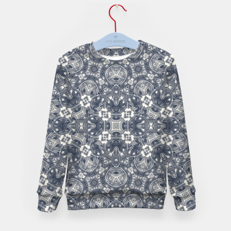 Luxury Geometric Ornate Mosaic Print Kid's sweater Bild der Miniatur