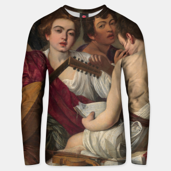 Thumbnail image of Caravaggio-The Musicians Unisex sweater, Live Heroes