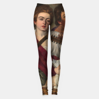 Thumbnail image of Caravaggio-The Musicians Leggings, Live Heroes