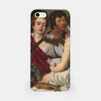 Thumbnail image of Caravaggio-The Musicians iPhone Case, Live Heroes