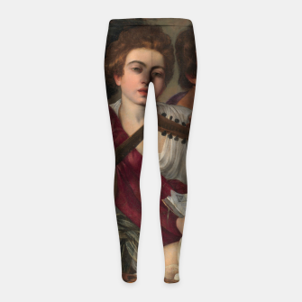 Thumbnail image of Caravaggio-The Musicians Girl's leggings, Live Heroes