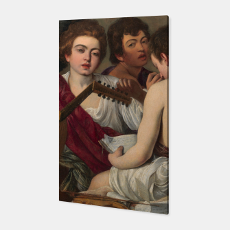 Thumbnail image of Caravaggio-The Musicians Canvas, Live Heroes