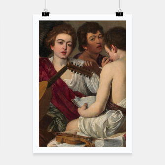 Thumbnail image of Caravaggio-The Musicians Poster, Live Heroes