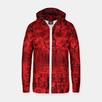 Thumbnail image of Red Roses  Sweat capuche zippé , Live Heroes