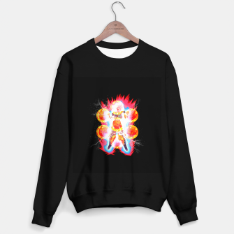 Goku Super Kaioken Times 10 Sweater regular Bild der Miniatur