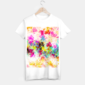 Thumbnail image of Spring Floral with geometric Camiseta Regular, Live Heroes