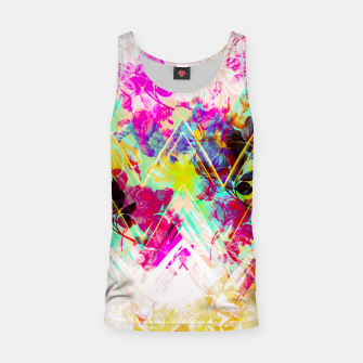 Thumbnail image of Spring Floral with geometric Camiseta de tirantes, Live Heroes